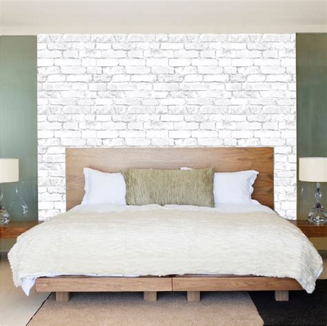 white brick wallpaper bedroom white bricks wallpaper decal self adhesive brick