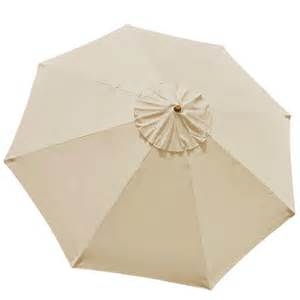 Replacement Patio Umbrella Canopy by 10 Ft Patio Market Umbrella Replacement Canopy Beige