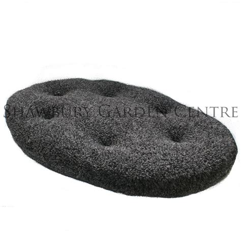 bed cushion pad p l oval cushion pad dog bed