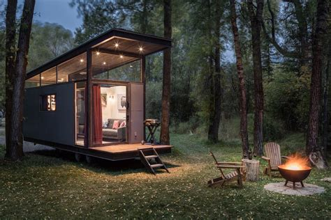 tiny homs tiny house from wheelhaus is sleek and airy curbed