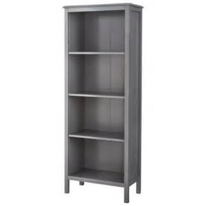 Target Threshold Carson Bookcase Threshold Windham 4 Shelf Bookcase Gray