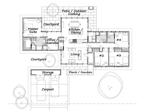 mid century floor plans midcentury modern floor plan mid century something pinterest