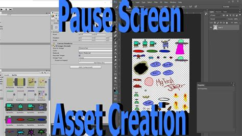 how to make doodle jump maker how to make a pause screen asset creation doodle jump