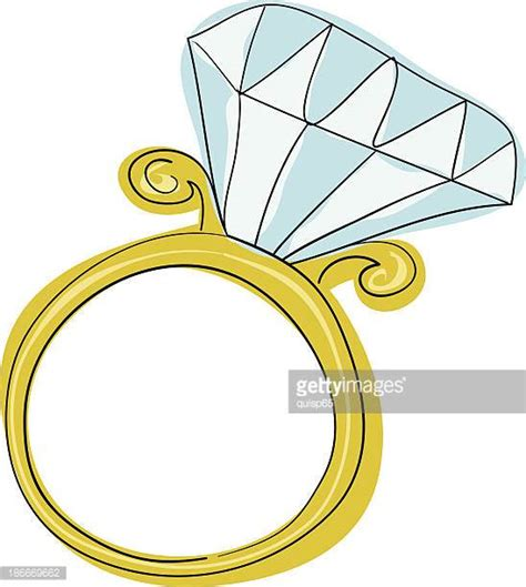 Wedding Rings by Engagement Ring Stock Illustrations And Cartoons Getty