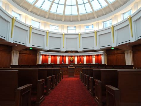 Denver Courts Search File Colorado Supreme Court Courtroom Jpg Wikimedia Commons