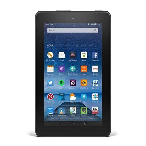 amazon fire amazon kindle fire 7 quot tablet 8gb quad core 1 3ghz sv98ln