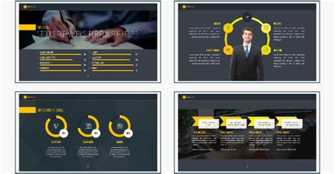 18 Cool Portfolio Powerpoint Templates Desiznworld Powerpoint Portfolio Template