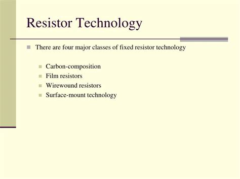 resistor technology 28 images ppt modern anesthesia machines what you should powerpoint