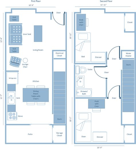 what is a floor plan floor plans penn state university park housing
