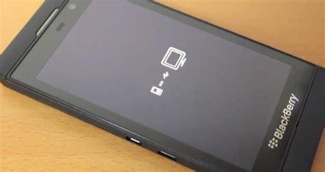 factory reset blackberry via pc z10 stuck on black screen showing usb computer logo