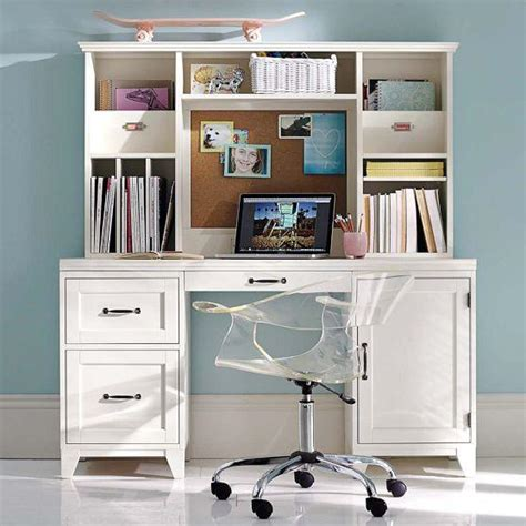 Room Desk Hutch by Hton Smart Desk Hutch Simply White From Pbteen Room