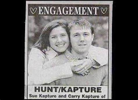 Worst Wedding Announcement Last Names by 22 Best Wedding Announcements Images On