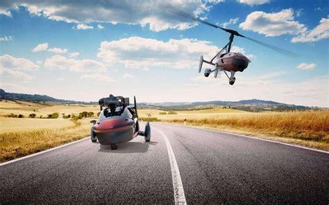 la volante pal v liberty la voiture volante se lance dans un tour