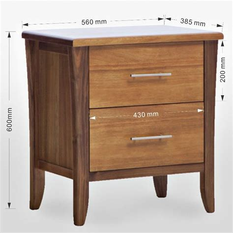 bedside table height relative to bed avoca bedside table tasmanian blackwood timber buy