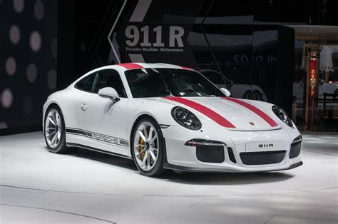 Porsche R 2016 Porsche 911 R Packs 500 Hp And A Manual Motor Trend