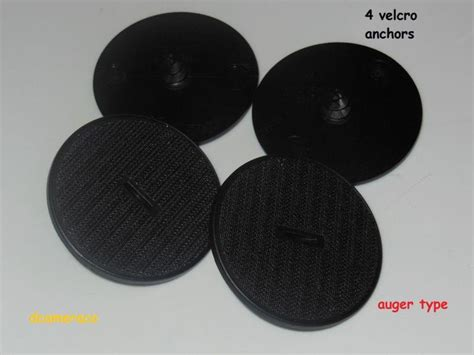 Bmw Floor Mat Hooks by Purchase 4 Bmw Oem Factory All Weather Floor Mat Clip Quot Auger Quot Anchor Velcro Hook Plates
