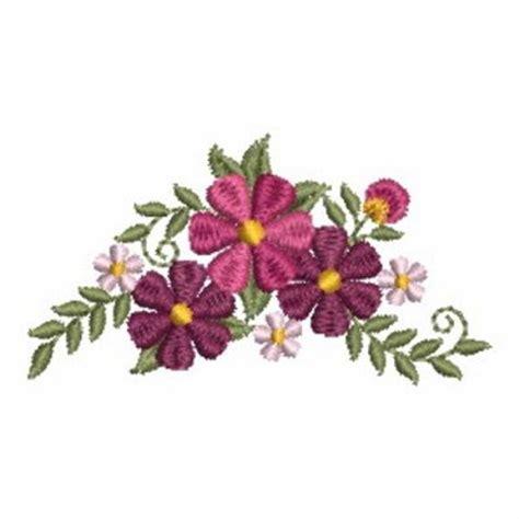 Patch Floral Bordir Bunga flower border embroidery designs machine