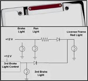 Brake Light System Diagram Third Brake Light Wiring Diagram