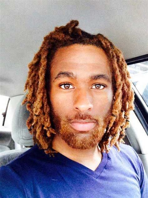 medium length loc styles for men image gallery medium dreads