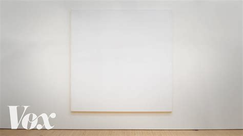 Painting White why these all white paintings are in museums and mine aren t