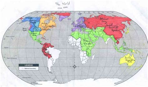 future world map map of the future world map travel
