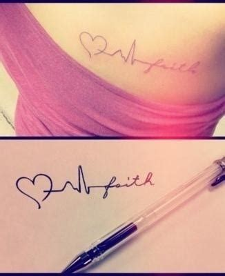baby heartbeat tattoo the 25 best heartbeat with name ideas on