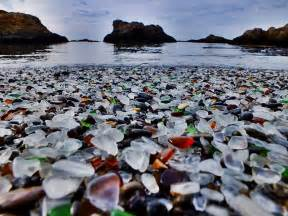 glass beaches places to go visit glass beach california usa