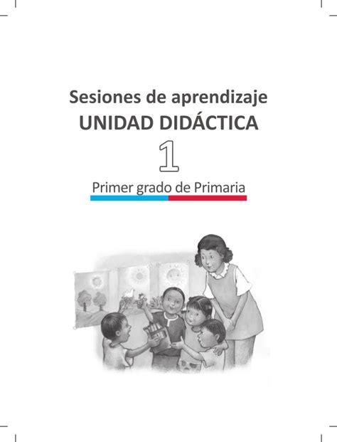 sesiones de aprendizaje segunda unidad primer grado documentos primaria sesiones comunicacion primer grado