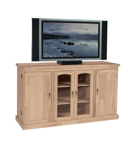swing box tv 62 inch tv console with swing out doors burr s
