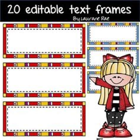 Free Flash Card Template With Border by 1000 Images About Clip On Doodle Borders