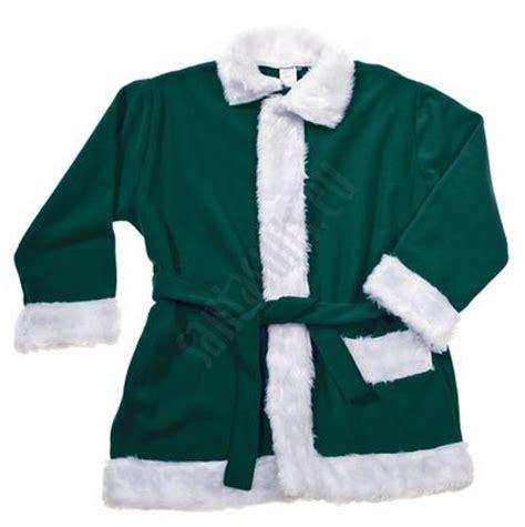 dark green santa suit jacket trousers and hat santa suits