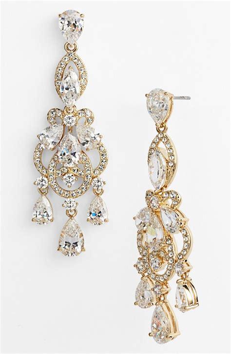 Nadri Legacy Crystal Chandelier Earrings Elizabeth Chandelier Jewelry