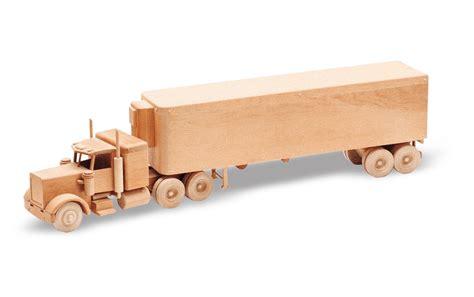 pattern wood toys patterns kits trucks 32 the big rig juguetes