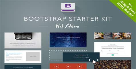 bootstrap starter kit v1 5 web edition creativemarket
