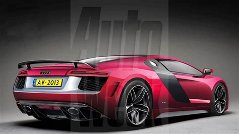 the audi r10 concept high end series of audi