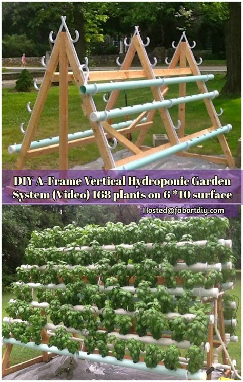 Diy Vertical Hydroponic Garden Best 25 Vertical Hydroponics Ideas On