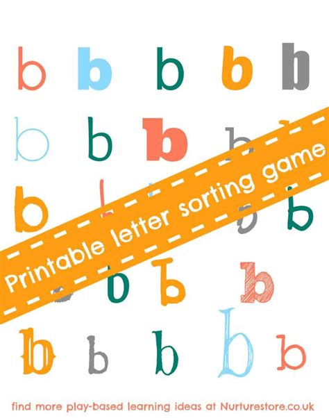 printable letters uk alphabet games letter sorting nurturestore