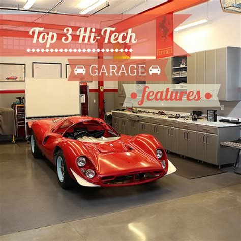 garage tech high tech garage features a garage doors