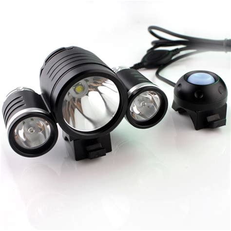 high power 3000 lumen rechargeable waterproof 3x cree led