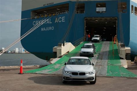 Car Rental In Galveston Port by Bmw Vehicles Now Arriving In Port Of Galveston The News Wheel