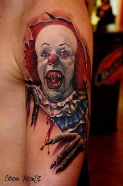 joker zombie tattoo best 25 clown tattoo ideas on pinterest evil clown