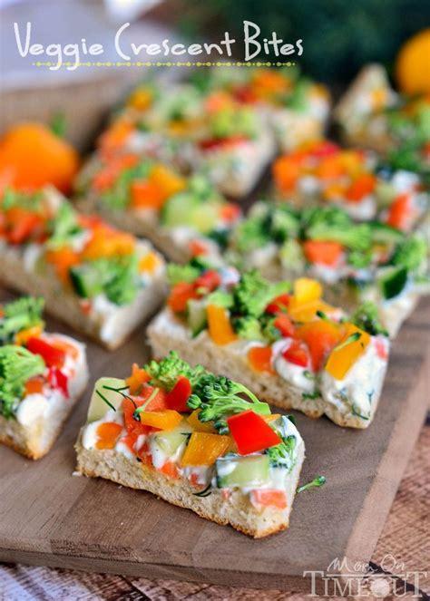 Veggie Crescent Bites Recipe Appetizer Recipes