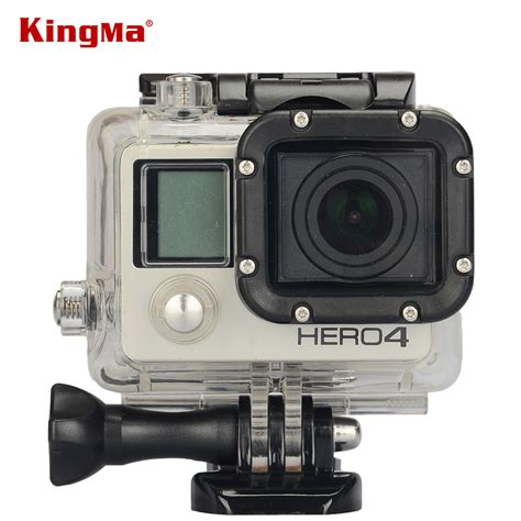 Waterproof Gopro 4 kingma gopro 4 underwater waterproof housing replacement for go pro 4 and 3