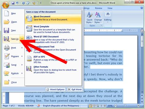 how to save a template in word how to save as in word 2007 4 steps with pictures wikihow