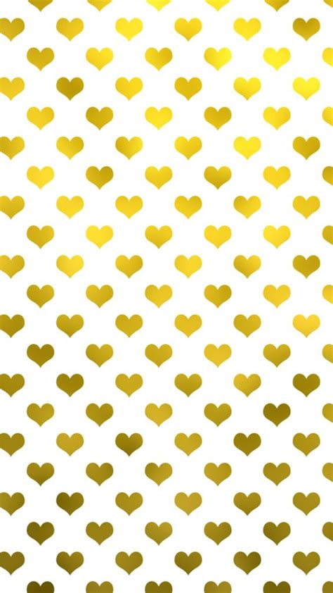 pattern dots gold gold metallic hearts polka dot pattern hearts papeis