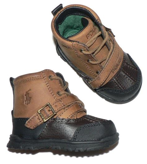 boots for baby polo ralph infant baby crib shoes tavin boots ebay
