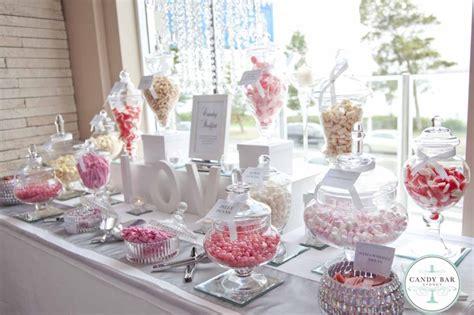 pink wedding candy buffet by candy bar sydney pinterest