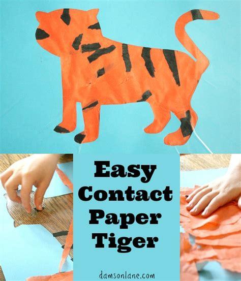 tiger crafts for easy tiger craft for