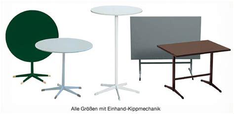 Gartentisch Mit Stühle by Klapptische Und Klapptischgestelle Klappbare Tische