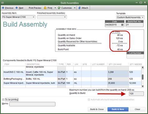 quickbooks tutorial inventory management manufacturing in quickbooks quickbooks training